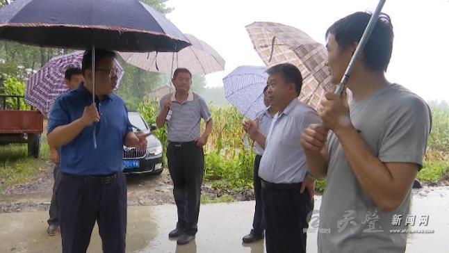 县长曾超到黄湾镇调研环境保护工作