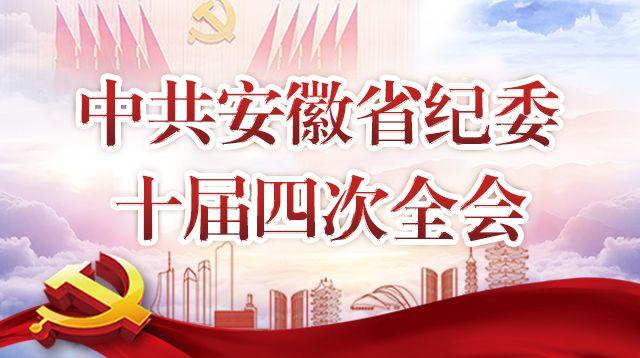中共安徽省纪委十届四次全会