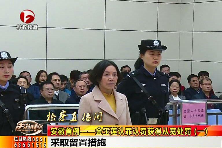 【廉政视点】金玉莲认罪认罚获得从宽处罚