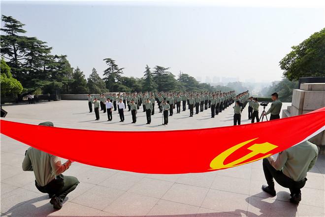 镜头|一线共产党员风采