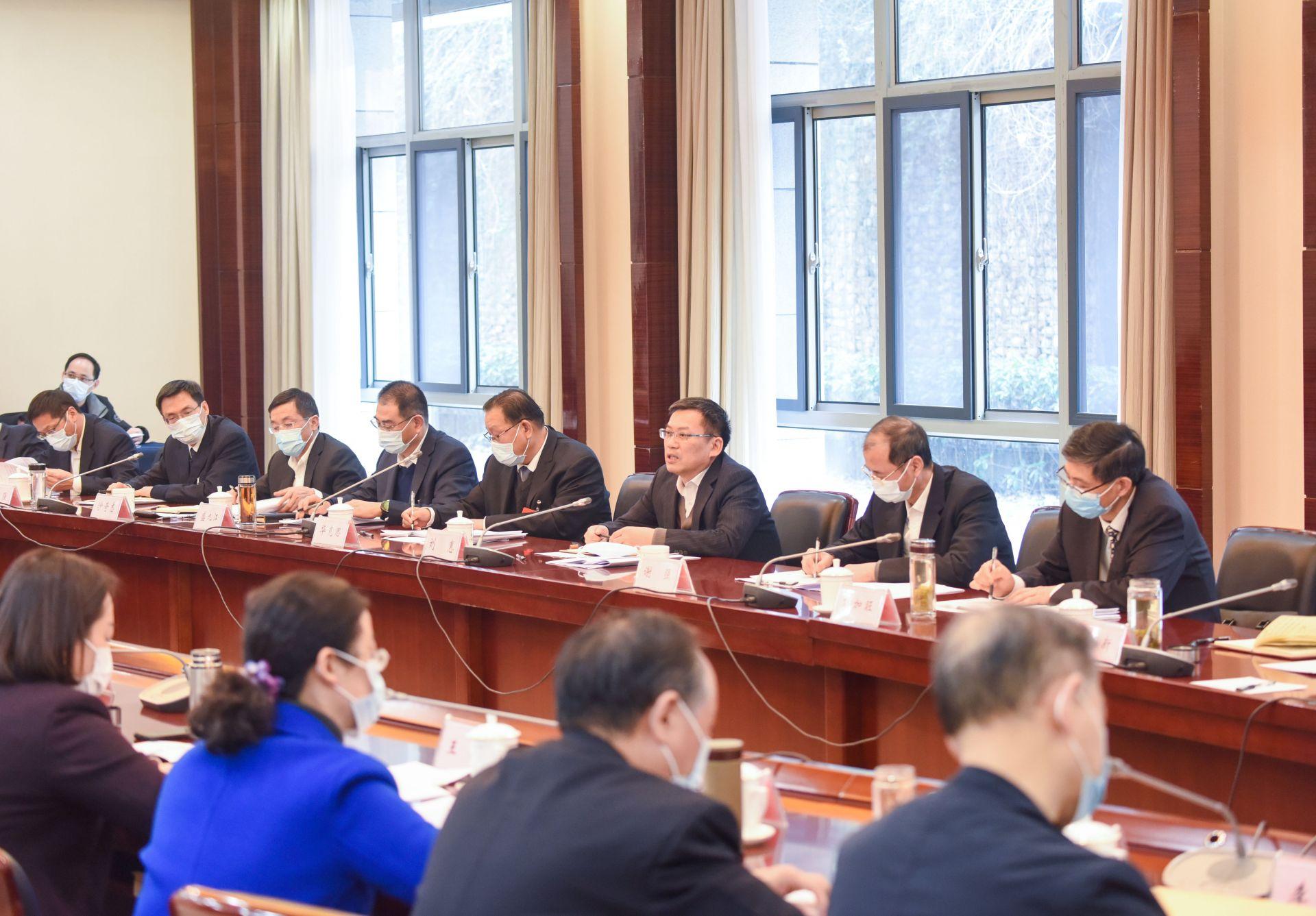 中共安徽省纪委十届六次全会分组讨论精彩图集
