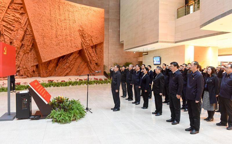 省纪委监委举行党史学习教育专题学习