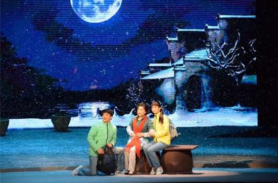 黄梅戏《遍地月光》盛夏在肥热演十场