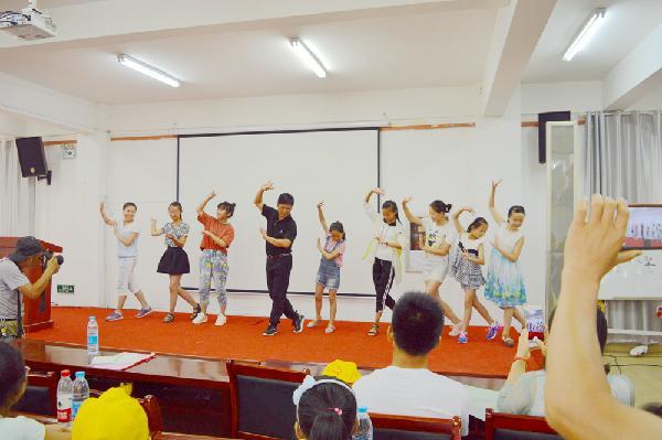 长丰县举办中小学生戏曲夏令营活动