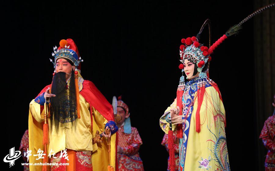 淮南:京剧名家们贺新春 传统国粹进基层