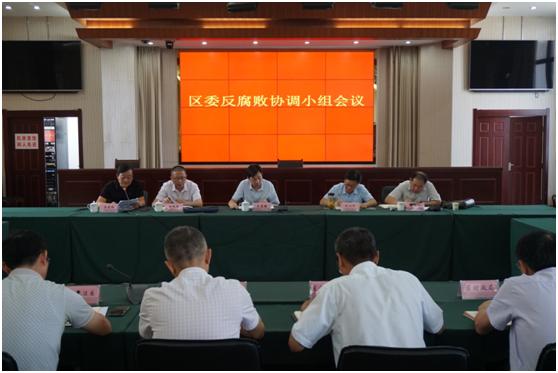 贵池区委反腐败协调小组召开扫黑除恶专项斗争专题会议