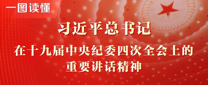 一图读懂丨习近平总书记在十九届中央纪委四次全会上的重要讲话精神