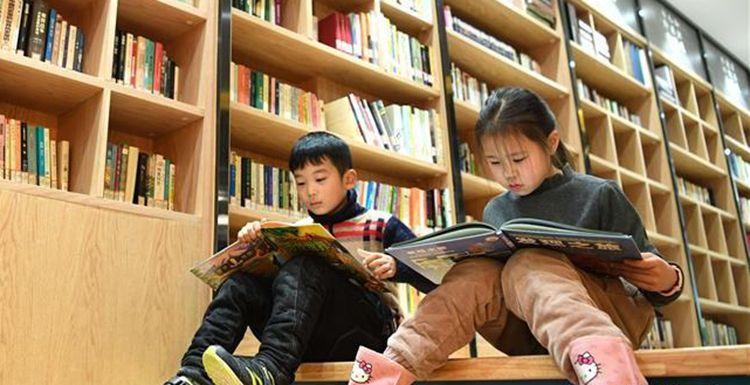 """合肥:""""城市阅读空间""""里乐享阅读便利"""