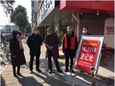 """蚌埠龙子湖:当好社区""""网格员"""" 织牢疫情防控网"""
