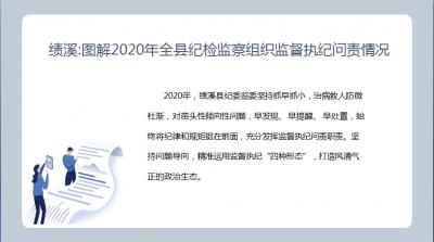绩溪:图解2020年全县纪检监察组织监督执纪问责情况