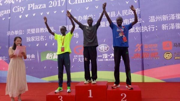 2017中国灵璧国际马拉松比赛(图片视频全都有)