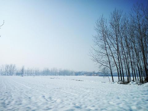 2018年灵璧的第一场雪