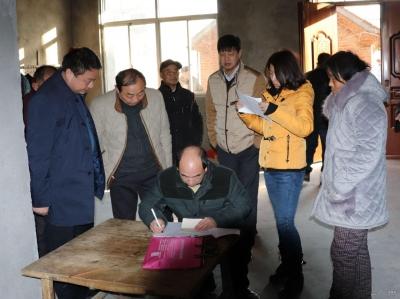 省直四单位领导到禅堂检查民生工程实施情况