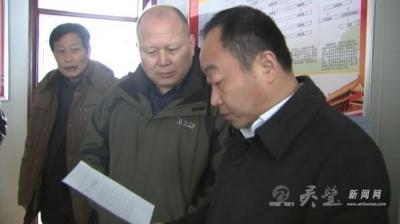县委书记刘博夫调研乡镇扶贫工作