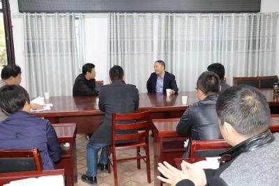 灵璧县委常委、宣传部长高文到禅堂调研脱贫攻坚和维稳工作