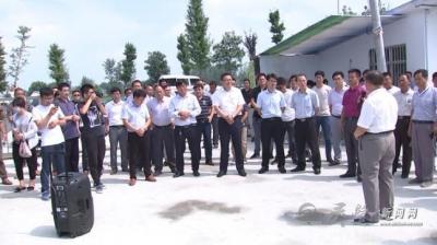 向阳乡组织党员干部赴大路大庙考察学习