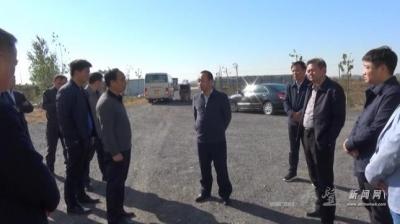 县委书记刘博夫视察环保工作
