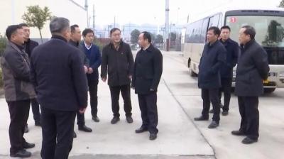 县委书记刘博夫调研环保工作
