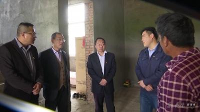 县委书记刘博夫到向阳乡调研脱贫攻坚工作