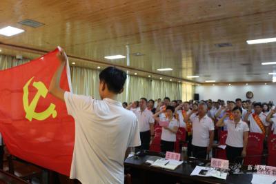 灵璧县朝阳镇:38名优秀党务工作者和优秀共产党员受表彰