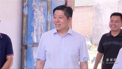 县长赵明到联系乡镇调研指导脱贫攻坚工作