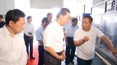 省政协主席张昌尔来灵璧调研经济发展情况