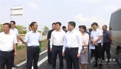 县长赵明督查突出环保问题整改暨重点项目建设