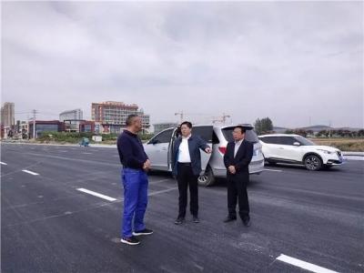 县长赵明督导重点工程建设