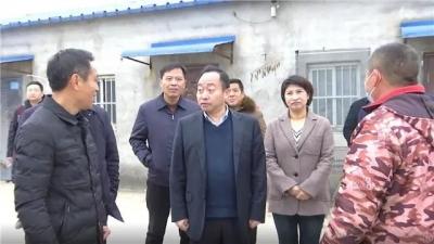 县委书记刘博夫督查环保工作