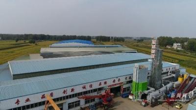"""【实干灵璧】飞松机械—灵璧县的""""高新技术企业""""  第十六期"""