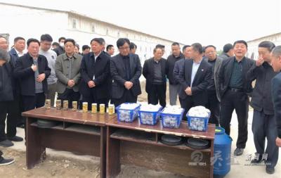 全县人大工作会议在杨疃镇召开
