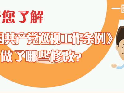 一图读懂:带您了解《中国共产党巡视工作条例》做了哪些修改?