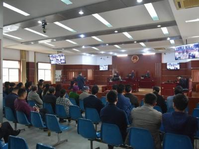 芜湖县:百名干部旁听庭审接受警示教育