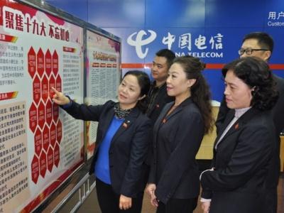 中国电信安徽公司:专兼职纪检人员多种形式学习宣传贯彻十九大精神