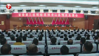 【纪检动态】十届省委第三轮巡视继续反馈巡视情况(二)