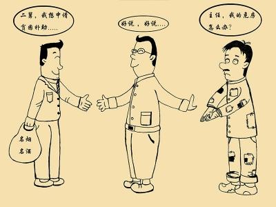 【廉政漫画】优亲厚友要不得