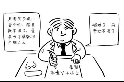 """""""我叫李廉洁,为廉洁代言""""系列漫画⑤"""