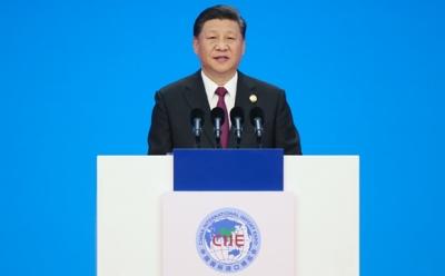 习近平主席出席首届中国国际进口博览会纪实
