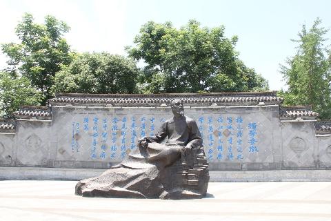 宣城梅氏清初著名数学家、天文学家梅文鼎雕像