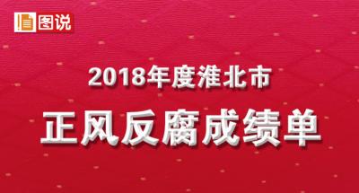 淮北:图解2018年正风反腐成绩单