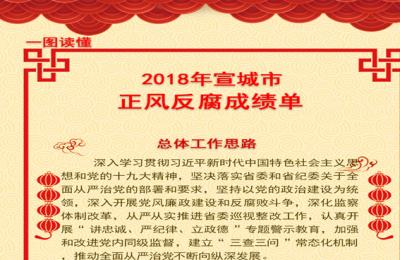 宣城:一图读懂2018年正风反腐成绩单