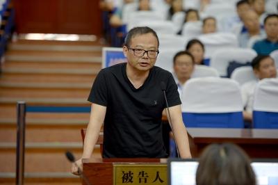 被控受賄530余萬元 安徽省委第七巡視組原副組長胡洪濤受審