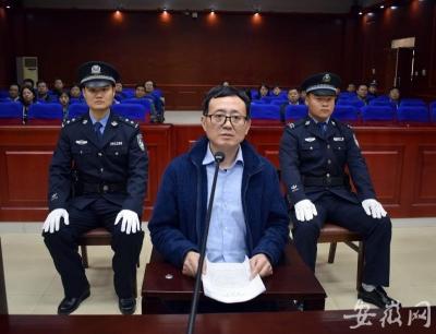 安徽省糧油食品進出口(集團)公司原黨委書記、董事長陳焱華出庭受審