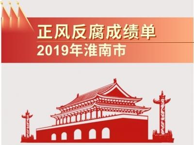 淮南:图解2019年正风反腐成绩单