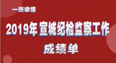宣城:一图读懂2019年纪检监察工作成绩单