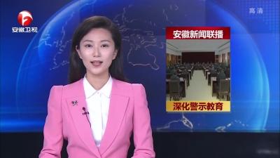 """【视频】安徽:深化""""三个以案""""警示教育取得阶段性成效"""