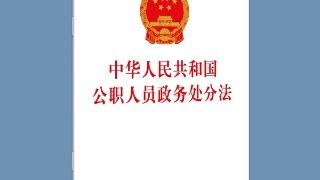 解读政务处分法|规范开展政务处分工作 依法保障公职人员合法权利