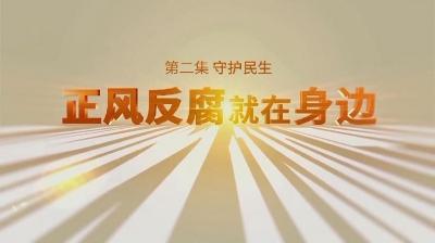 電視專題片《正風反腐就在身邊》第二集《守護民生》