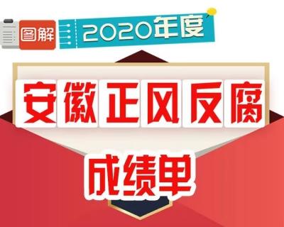【图解】安徽:2020年度正风反腐成绩单