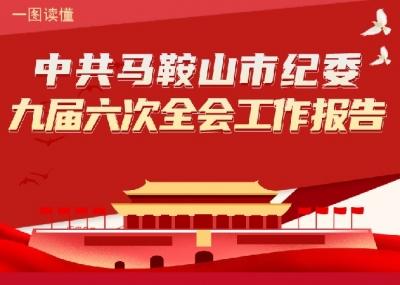 马鞍山:图解市纪委九届六次全会工作报告